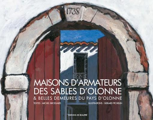 """Livre """"Maisons d'Armateurs des Sables d'Olonne"""""""